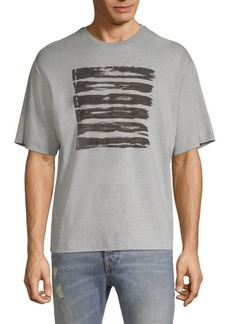 Diesel DBG Stripe Design Graphic Tee