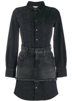 Diesel De-Dari denim shirt dress