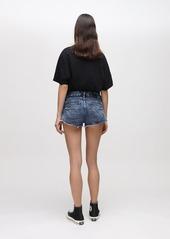 Diesel De-rimy Double Denim Shorts