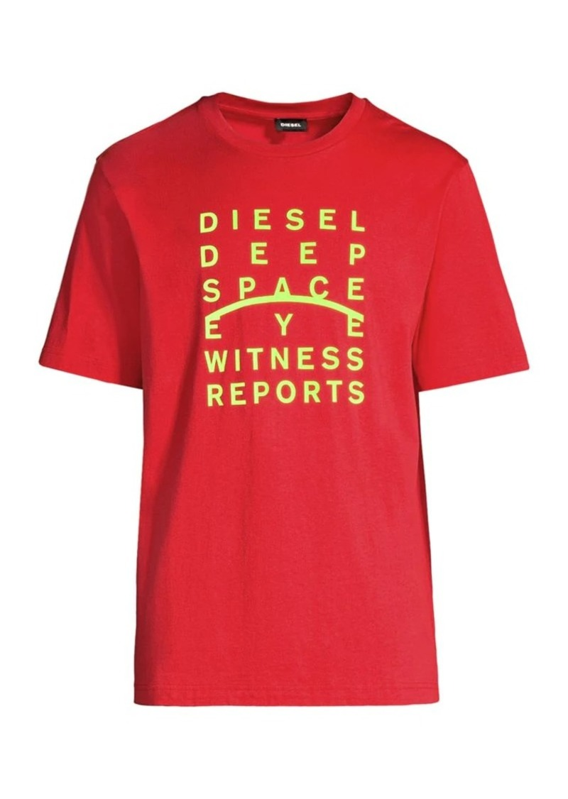 Diesel Deep Space Cotton Tee