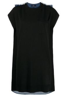 Diesel denim-back dress
