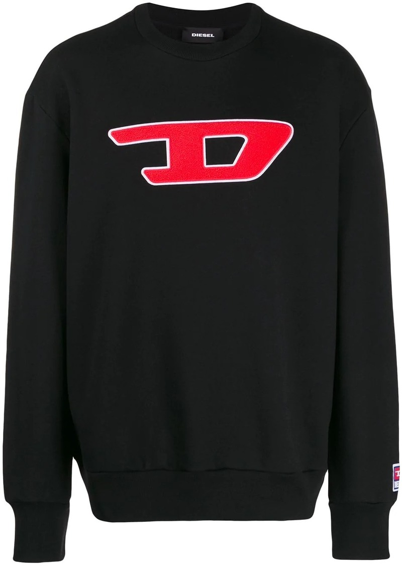 Diesel Denim Division patch sweatshirt