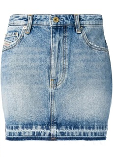 Diesel denim mini skirt