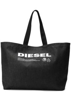 Diesel denim shopping bag with print