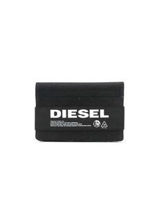 Diesel denim travel wallet