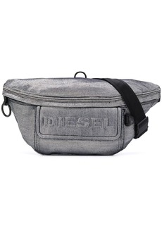 Diesel denim triple-function belt bag