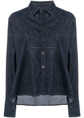 Diesel denim tunic shirt