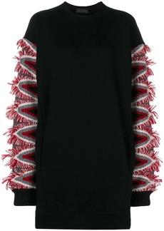 Diesel Denit sweater dress