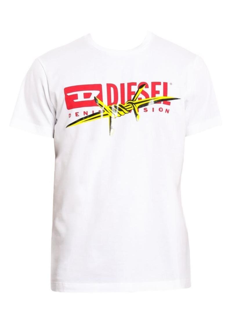 Diesel Diego Logo Cotton Tee