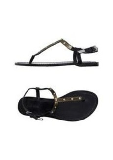 DIESEL - Toe strap sandal