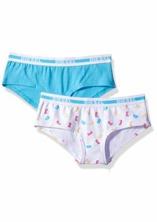 Diesel Accessories Girls' Big 2 Pack Hipster Underwear  S