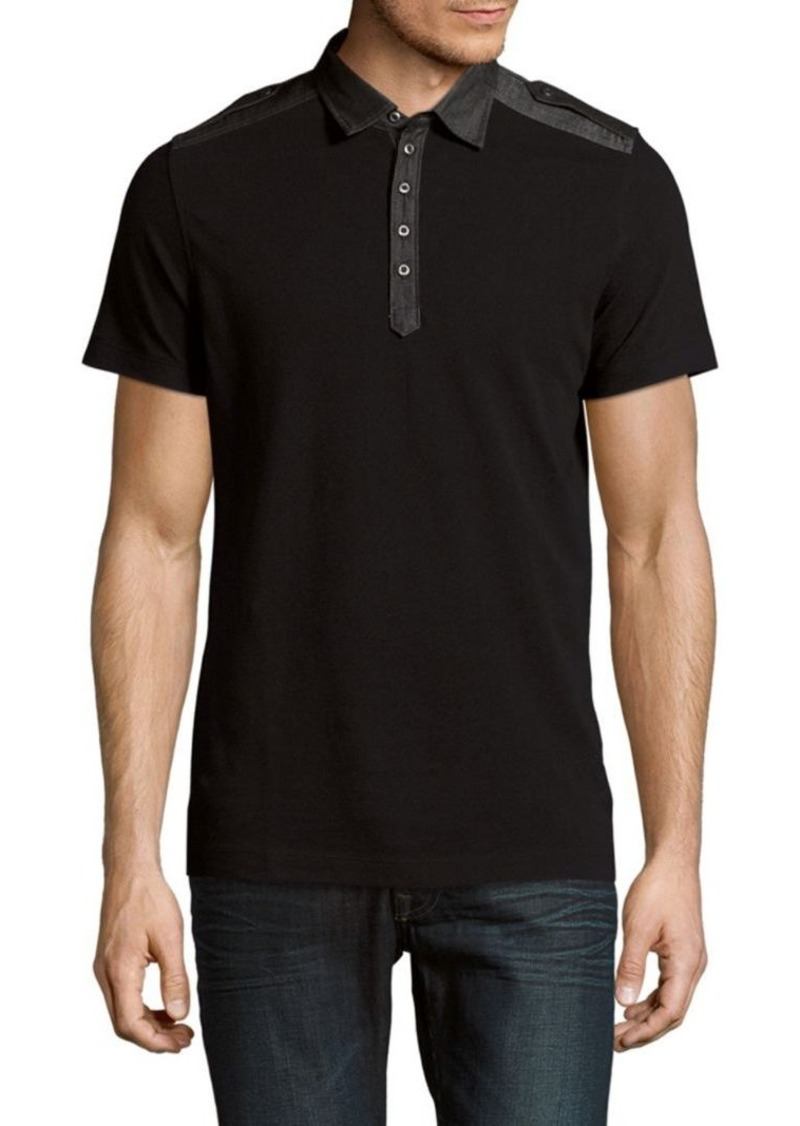f29411f6 Diesel Diesel Angie Cotton Polo Shirt | Casual Shirts