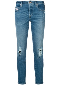 Diesel Babhila distressed jeans - Blue