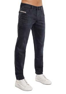 Diesel Bazer Slim Straight Fit Jeans in Blue/Gray