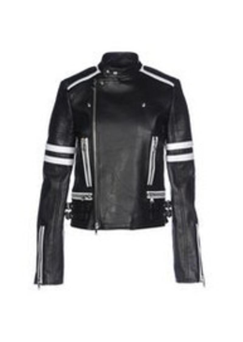 DIESEL BLACK GOLD - Biker jacket