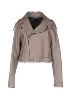 DIESEL BLACK GOLD - Leather jacket