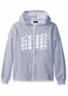 Diesel Boys' Big Classic Fleece Zip Hoodie
