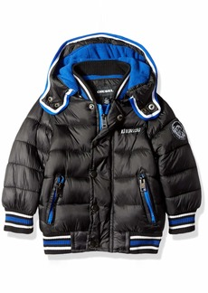 Diesel Boys' Toddler Hooded Bubble Down Jacket