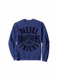 Diesel Brothers Custom Vintage Black Text Sweatshirt