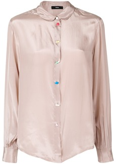 Diesel classic fitted blouse - Nude & Neutrals