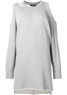 Diesel cold shoulder sweater dress - Grey
