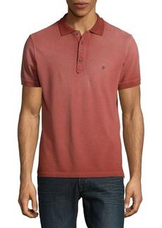 Diesel Cotton Short-Sleeve Polo