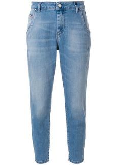Diesel cropped mid-rise skinny jeans - Blue