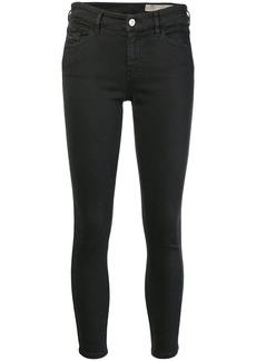 Diesel cropped skinny jeans - Black