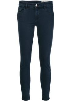 Diesel cropped skinny jeans - Blue