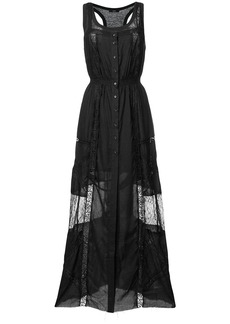 Diesel D-Ales-A maxi dress - Black