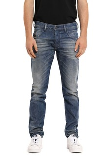 Diesel D-Bazer Slim Straight Fit Jeans in Denim