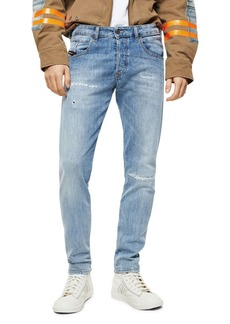Diesel D-Bazer Slim Straight Jeans in Denim