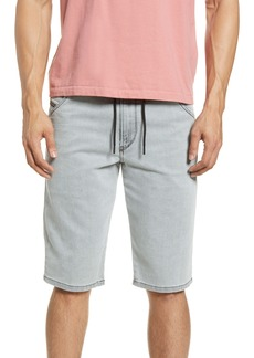 DIESEL® D-Krooshort JoggJeans Shorts (Grey Denim)