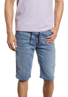 DIESEL® D-Krooshort JoggJeans Shorts (Medium Blue)