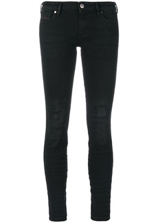 Diesel distressed skinny jeans - Black