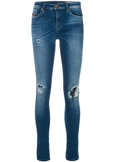 Diesel distressed skinny jeans - Blue