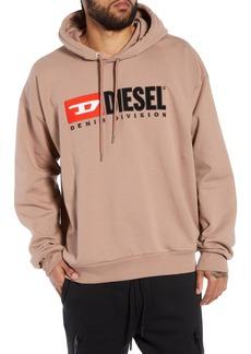 DIESEL® Division Embroidered Hoodie
