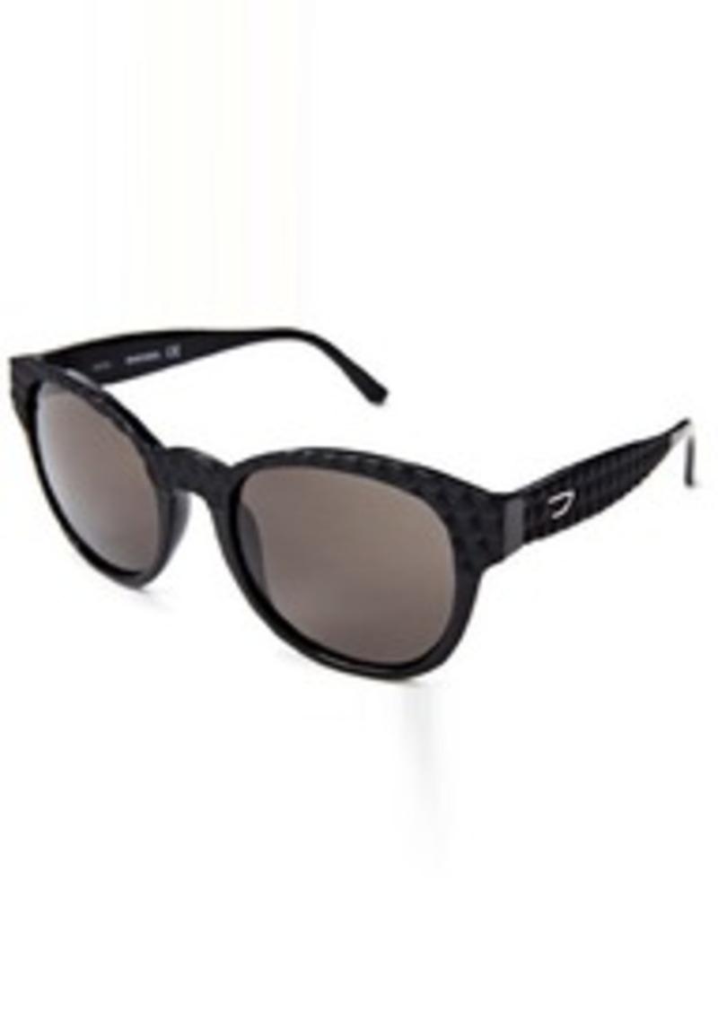 Diesel DL00455401N Round Sunglasses