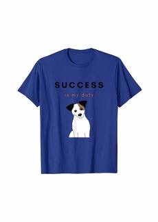 Diesel Dog Design Jack Russell Success Fashion T-Shirt