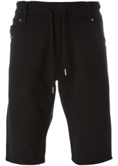 Diesel drawstring denim shorts - Black