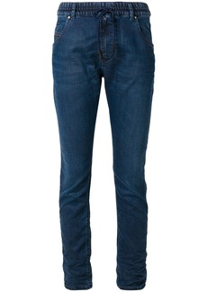 Diesel drawstring-waist skinny jeans - Blue