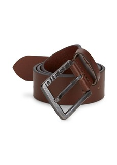 Diesel Embossed Leather Belt