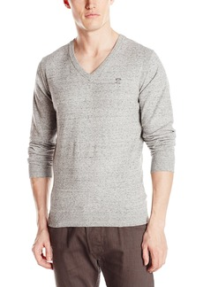 Diesel Men's K-Benti Solid V-Neck Pullover Sweater