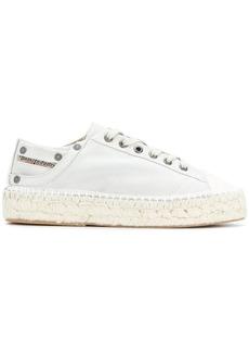 Diesel espadrille sneakers - White