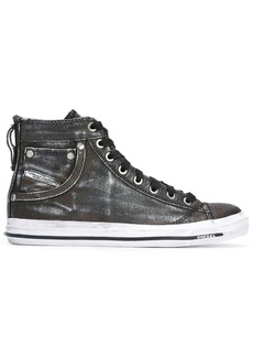 Diesel Exposure hi-tops - Grey