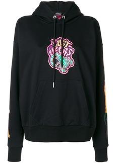 Diesel F-Alby-Fl hoodie - Black