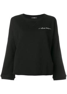 Diesel F-Gertrude-New sweatshirt - Black