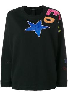 Diesel F-Gertrude-R sweater - Black