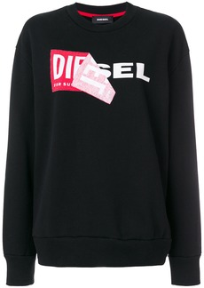 Diesel F-Samy-FL sweatshirt - Black