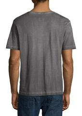 Diesel Faded V-Neck Cotton Tee